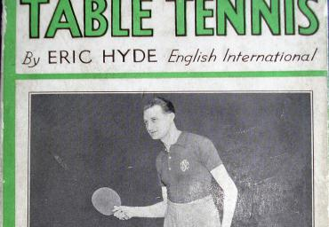 1935 Table Tennis Eric Hyde