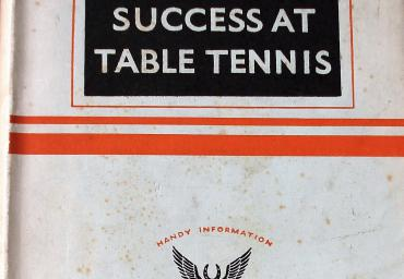 1936 Success at Table Tennis I. Kelen