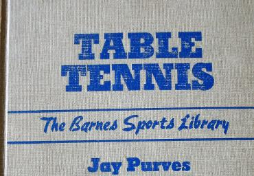 1942 Table Tennis J. Purves