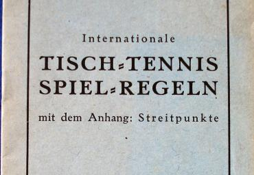 1944 Internationale Spielregeln