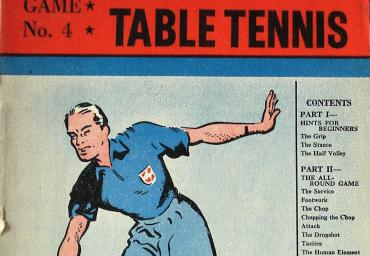 1948 Play the Game Table Tennis V. Barna