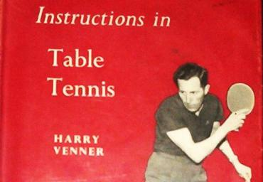 1960 Instructions in Table Tennis Harry Venner