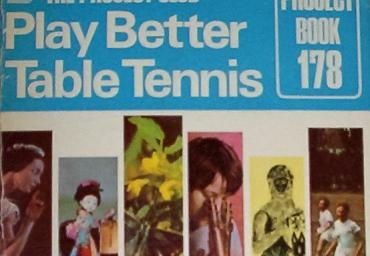 1970 Play better Table Tennis P.Simpson