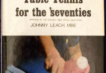 1971 Table Tennis for the seventies Johnny Leach