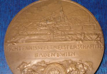 1933 WC Baden near Vienna Bronce medal men´s team avers