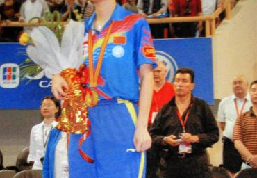 49d 2005 Weltmeisterin Zhang Yining