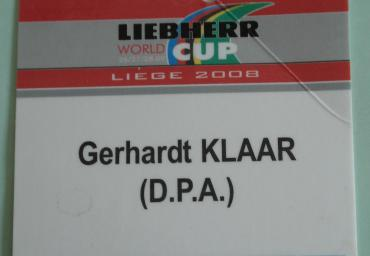 2008 World Cup Presse